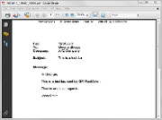 View faxes in the PDF viewer