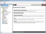 The GFI Network Server Monitor manager
